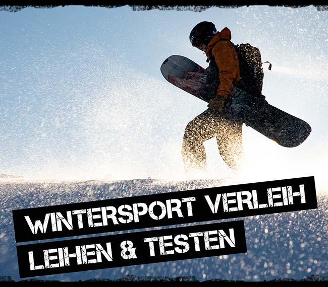 Rental Verleih Winter Ski Snowboards Tourenski Splitboards Langlauf-Ski