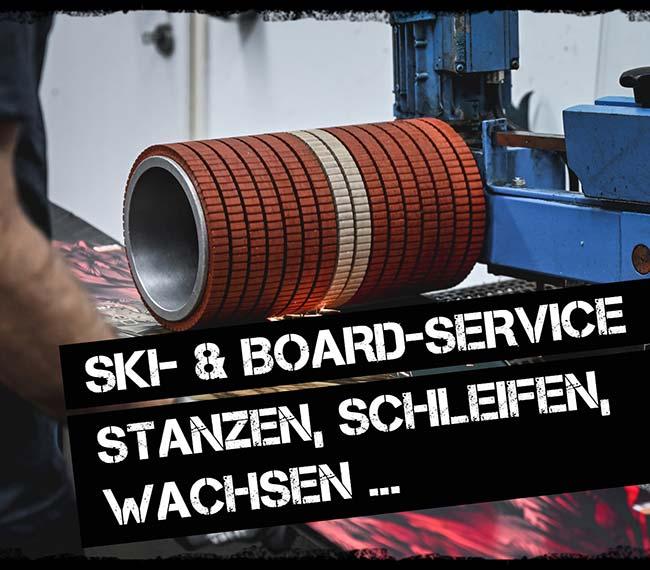 Ski Service Ski tunen schleifen wachsen montieren DIE BÖRSE Innsbruck Mutters